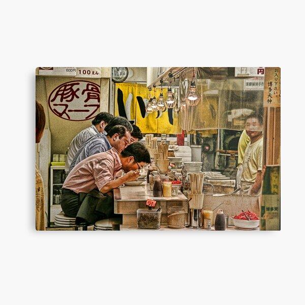 Tokyo Diner Metal Print