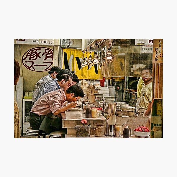 Tokyo Diner Photographic Print