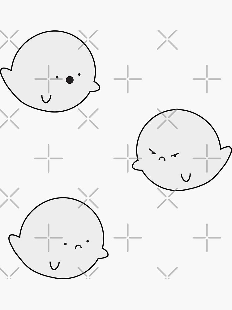 Moody Ghosts by 2designerds