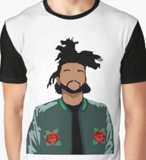 Weeknd Roses Graphic T-Shirt