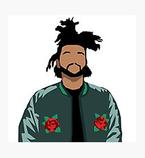 Weeknd Roses Photographic Print