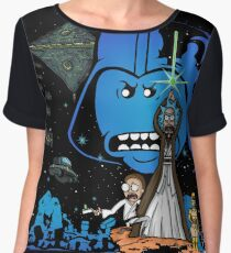 Rick Wars Women's Chiffon Top