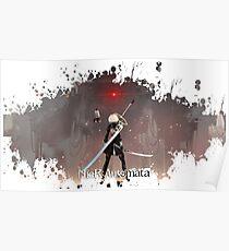 Nier: Automata Splatter Poster