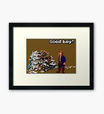 Guybrush & Guybrush Framed Print