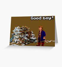 Guybrush & Guybrush Greeting Card