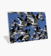 Snow Geese in flight Laptop Skin