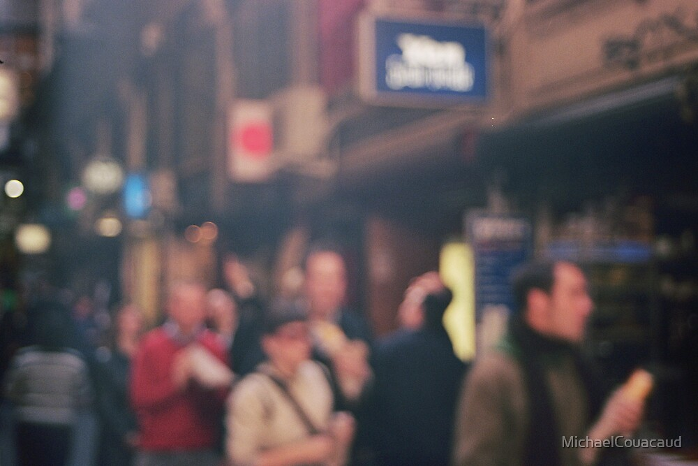 Blurry Life by MichaelCouacaud