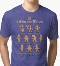 Grimm Gingerbread Tri-blend T-Shirt