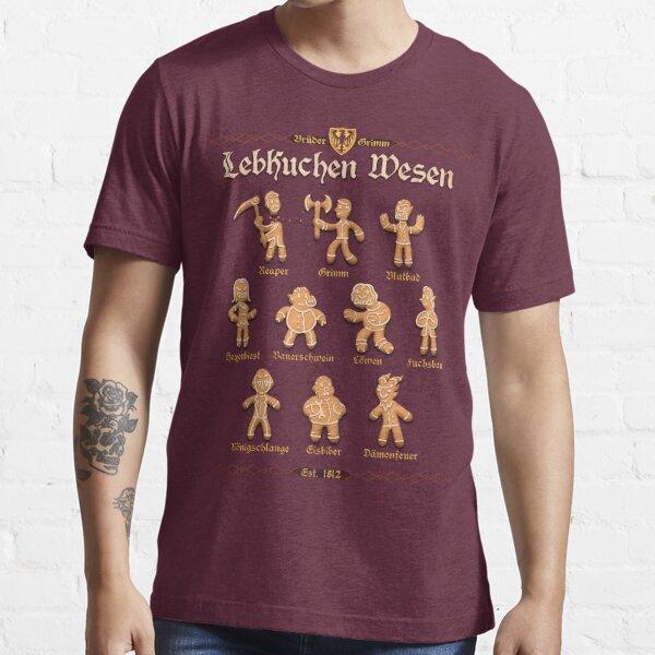Grimm Gingerbread Essential T-Shirt