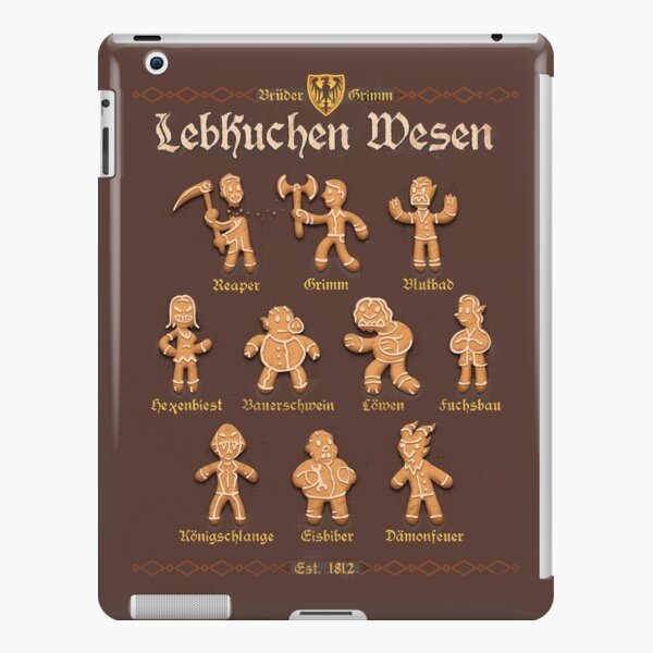Grimm Gingerbread iPad Snap Case