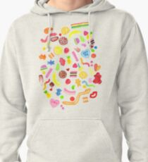 Mixed Lollies Pullover Hoodie