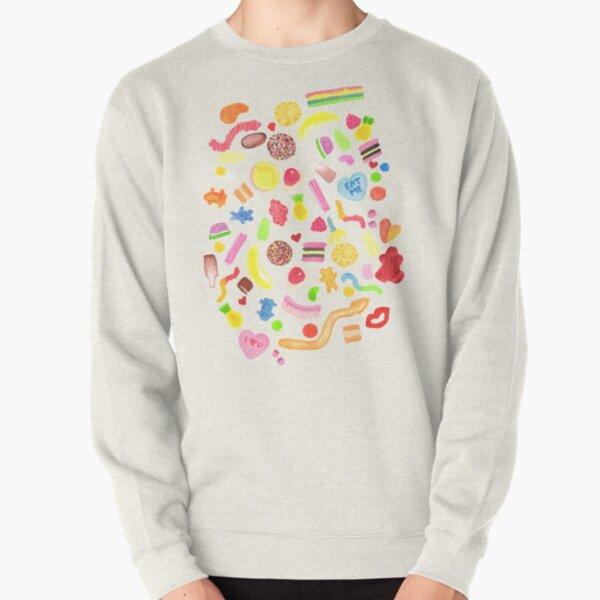 Mixed Lollies Pullover Sweatshirt