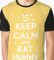 KEEP CALM - Keep Calm and Eat Hunny Graphic T-Shirt