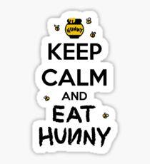 KEEP CALM - Keep Calm and Eat Hunny Sticker