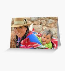 Amazing Perú !!! Greeting Card