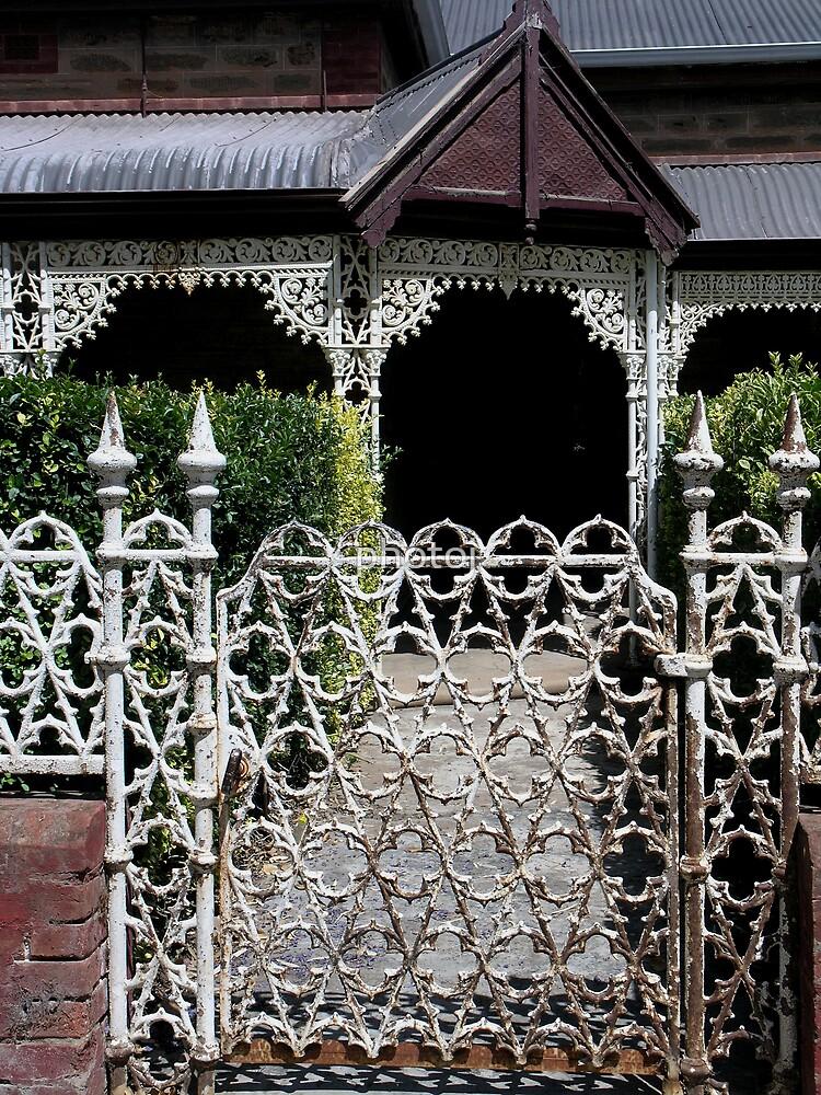 photoj South Australia 'Iron Fence' by photoj
