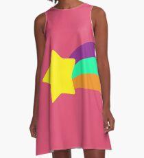 Sternschnuppe // Mabel Pines A-Linien Kleid