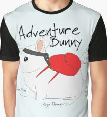 Adventure Bunny Graphic T-Shirt