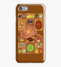 Jak and Daxter Grid iPhone Case/Skin