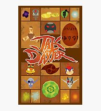 Jak and Daxter Grid Photographic Print