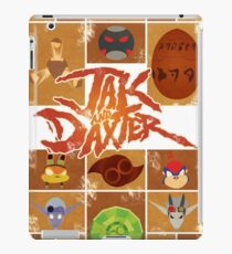 Jak and Daxter Grid iPad Case/Skin