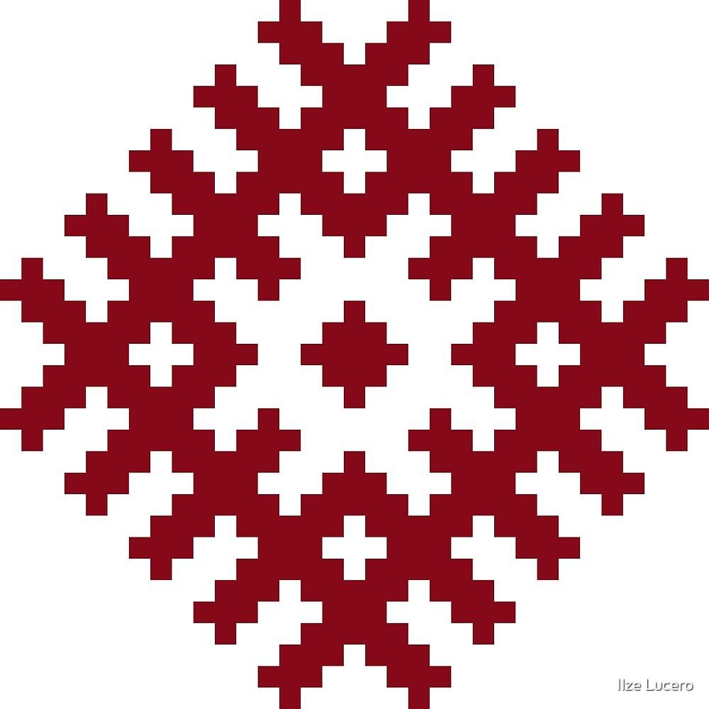 Ozolins Ancient Latvian Symbol By Ilze Lucero Redbubble