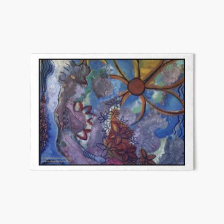 THE CELESTIAL RIDER by REKHA IYERN FE RECORDS CANADA Art Board Print