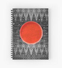 Bodacious Blood Moon Spiral Notebook