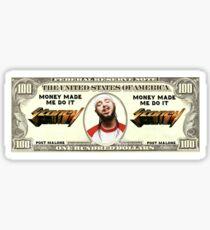 Post Malone Money Made Me Do It Sticker