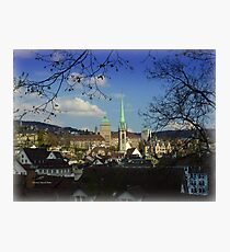 A City and a Home Photographic Print