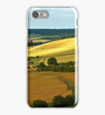 View Over The Thames Valley iPhone Case/Skin