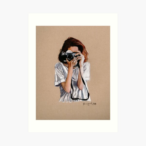 The Photographer Art Print