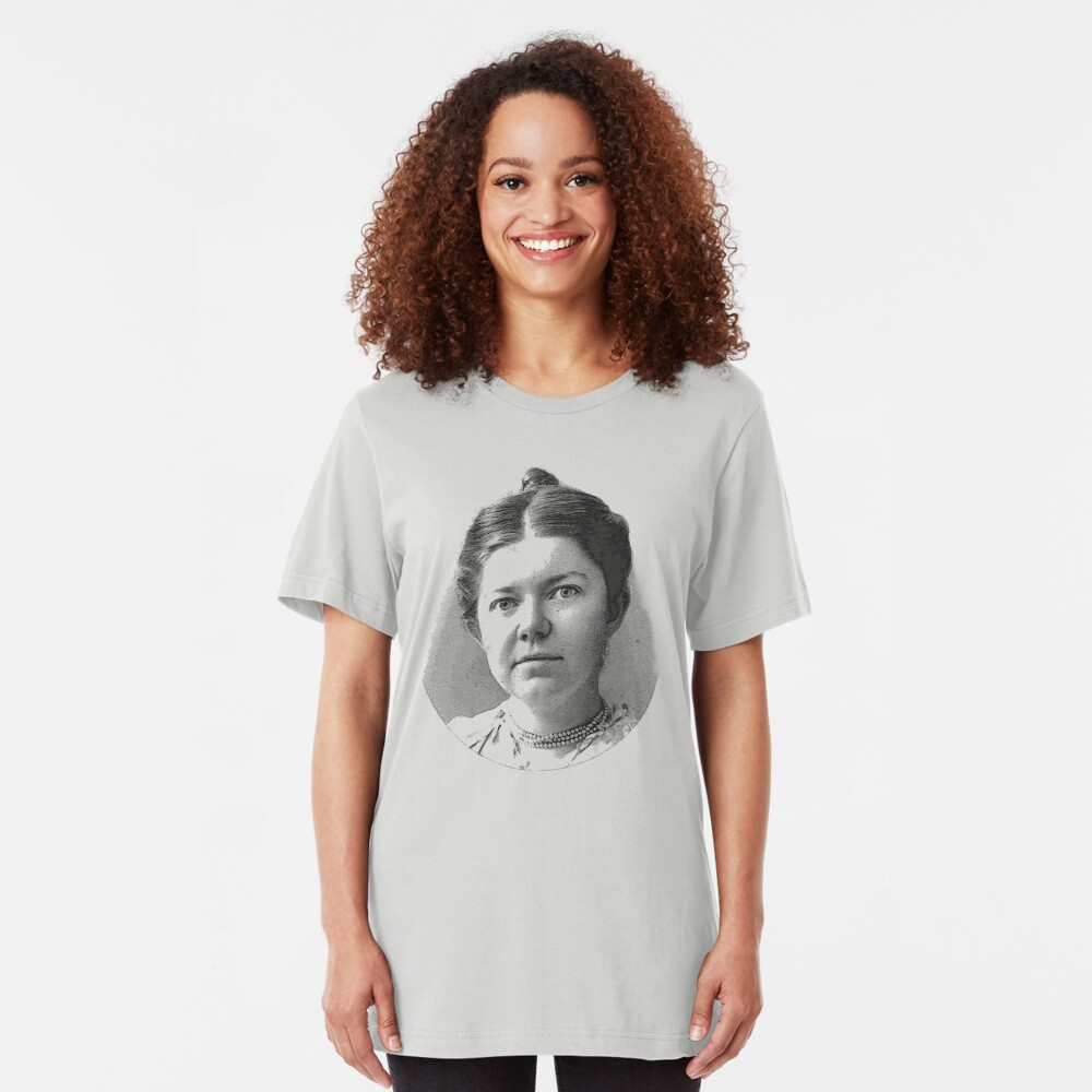 Amy Beach - Great American Composer Slim Fit T-Shirt