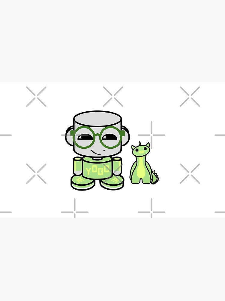Yobo Yo O'babybot (and Deeogee) by carbonfibreme