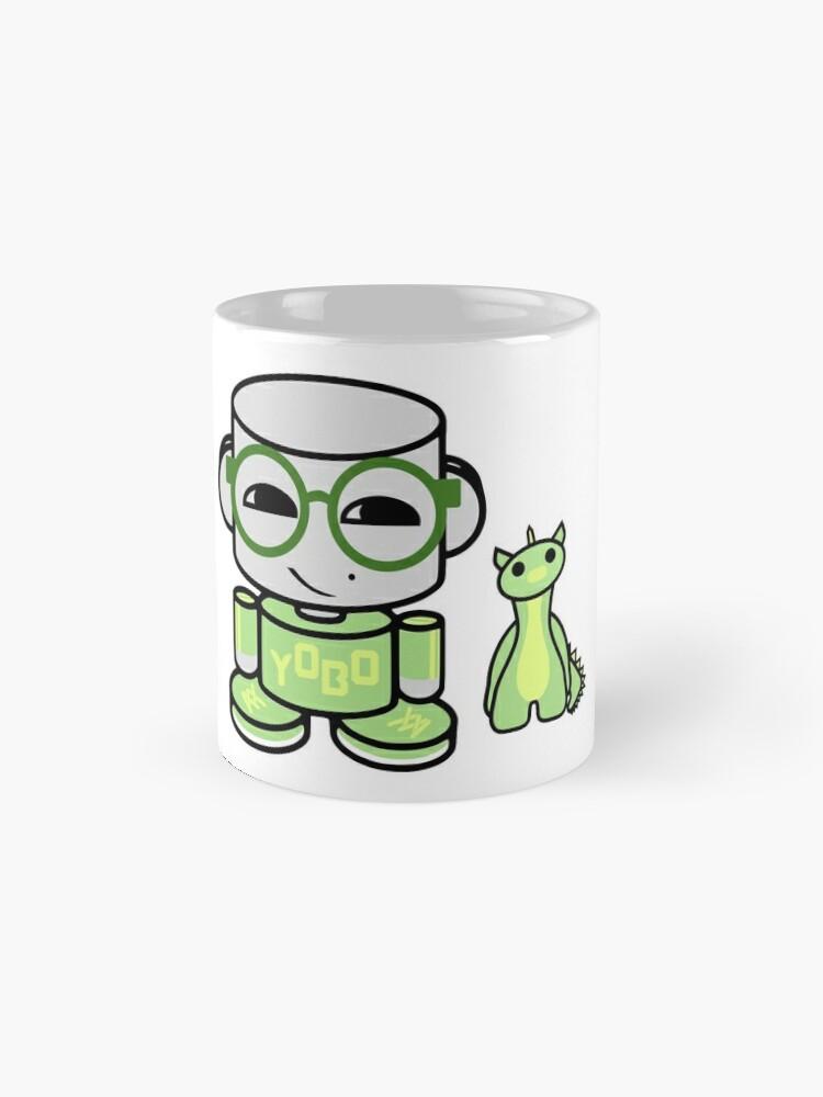 Alternate view of Yobo Yo O'babybot (and Deeogee) Mugs