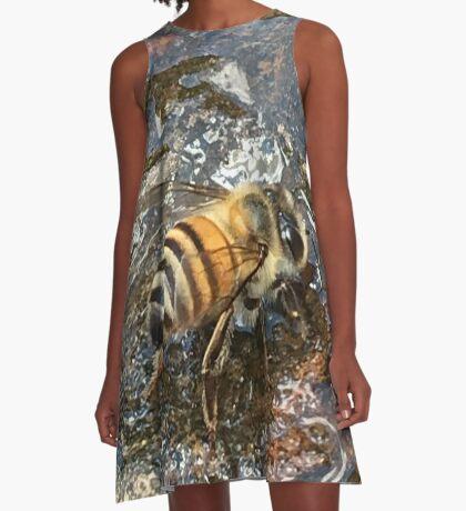 African Bee (Apis mellifera Scutellata) A-Line Dress