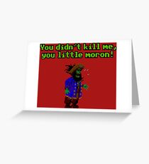 LeChuck is back Greeting Card