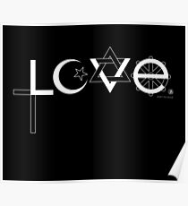 Love (white) Poster