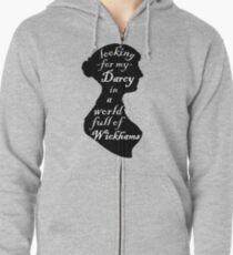 Pride and Prejudice Zipped Hoodie