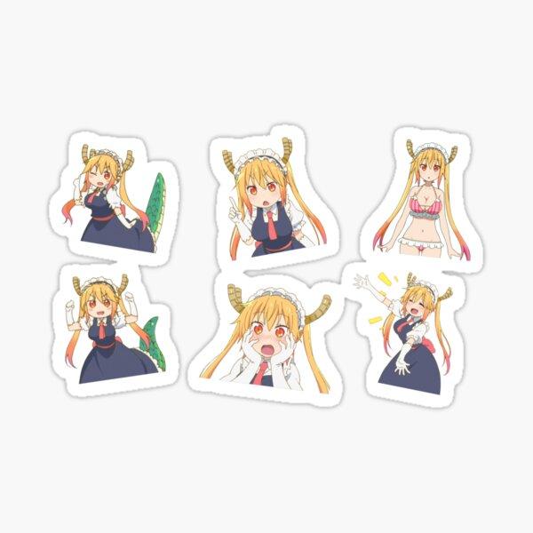 Tohru - Miss Kobayashi's Dragon Maid Sticker set Sticker