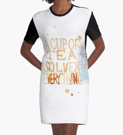 Eine Tasse Tee... T-Shirt Kleid