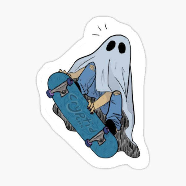 Ghost Dude Sticker