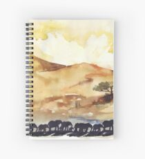 African Silhouettes Spiral Notebook