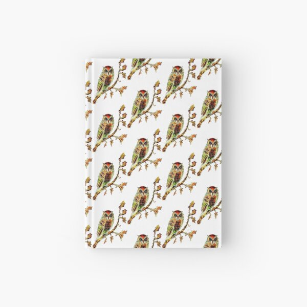 Brown Owl Hardcover Journal