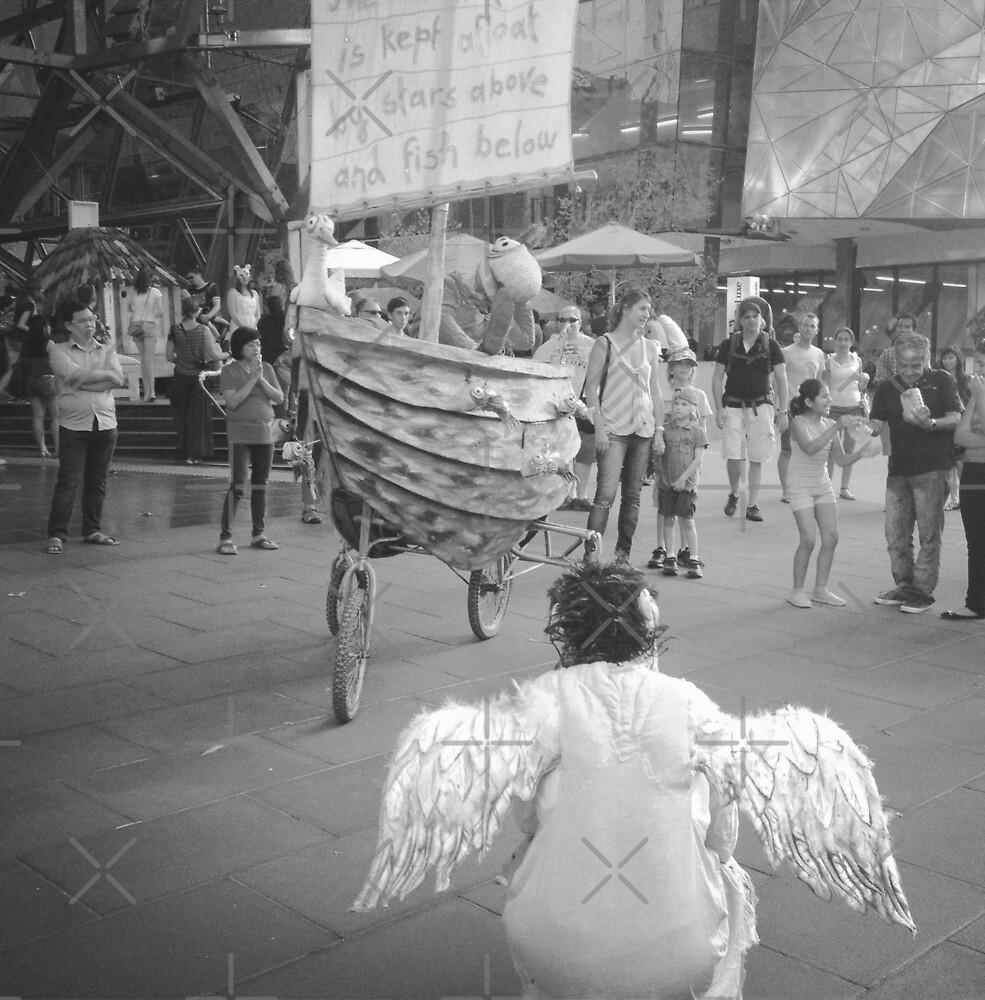 Street Performance by nadiairianto