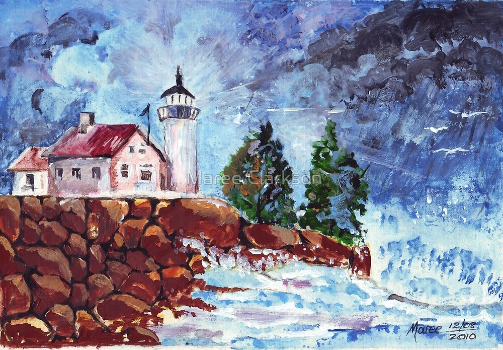 Light after the storm  by Maree Clarkson