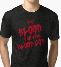 Blood for the Blood God Graffiti  Tri-blend T-Shirt