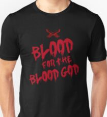Khorne Chaos God Graffetti - Blood for the Blood God Unisex T-Shirt