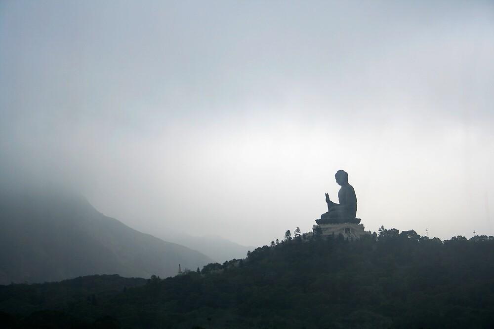 Lantau Island Seated Buddha by Nicholas Hannah