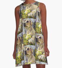 Labrador Dog A-Line Dress